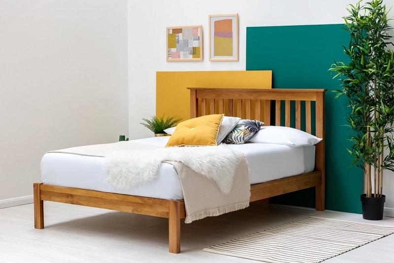 Giường gỗ Ash cho không gian hiện đại