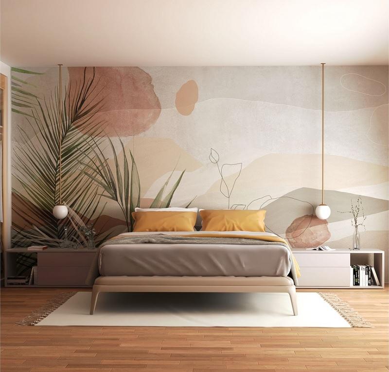 Mẫu phòng ngủ nhẹ nhàng phong cách Nhật bản dành riêng cho các cặp vợ chồng trẻ