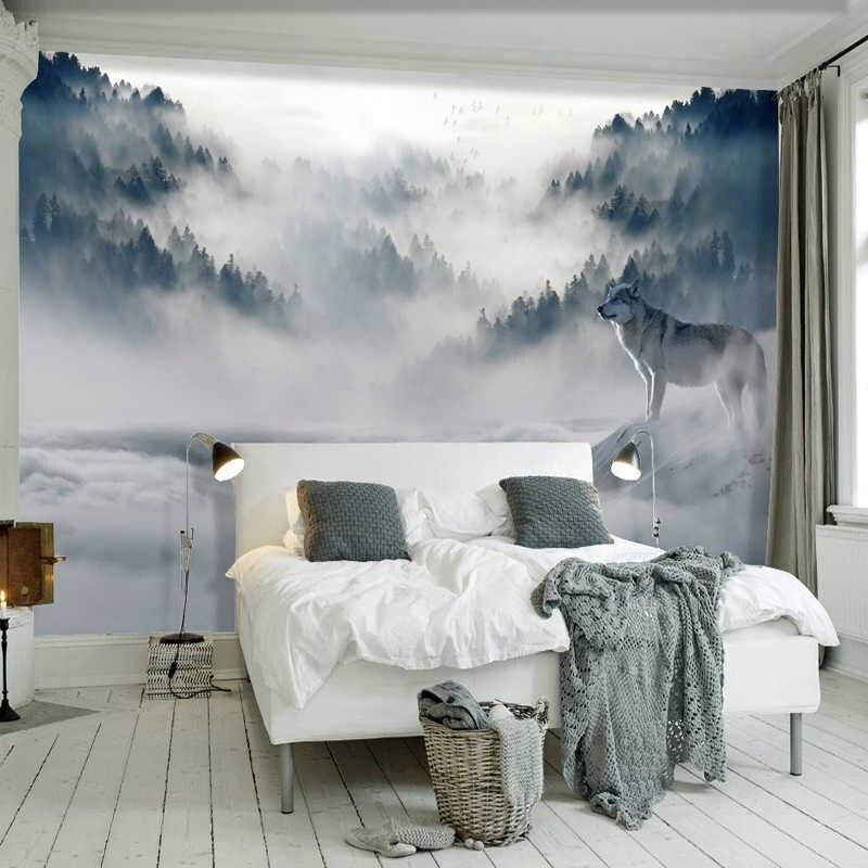 Mẫu phòng ngủ đẹp với bức tranh nghệ thuật án tượng