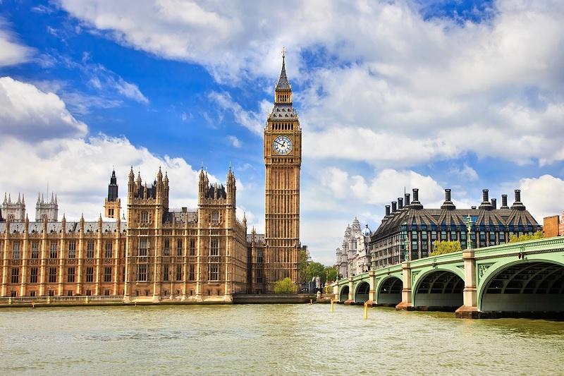 Tháp đồng hồ Big Ben - Lodon - một biểu tượng nổi tiếng thế giới của nước Anh