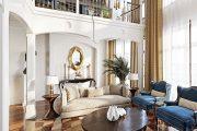 5 Ý tưởng thiết kế nội thất tân cổ điển phòng khách mang tính ĐỘT PHÁ!