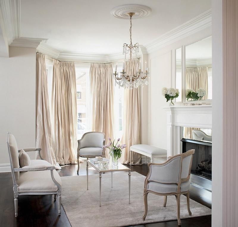 Mẫu thiết kế nội thất nhà tân cổ điển đan xen sự hiện đại