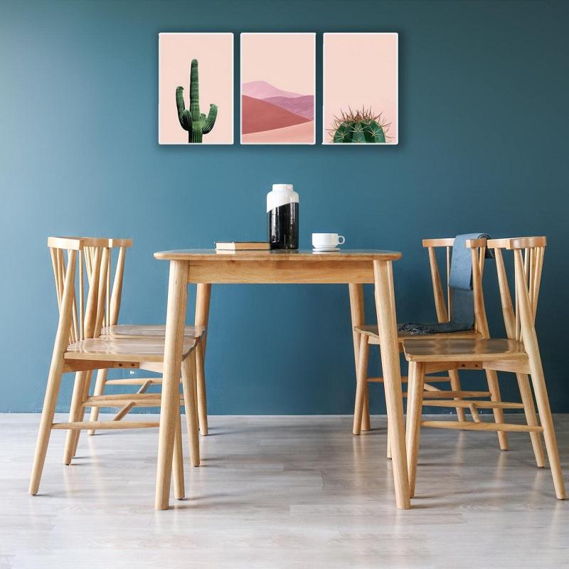 Màu sắc của gỗ giúp cho không gian phòng khách, phòng ngủ… trở nên sang trọng và hiện đại hơn rất nhiều.
