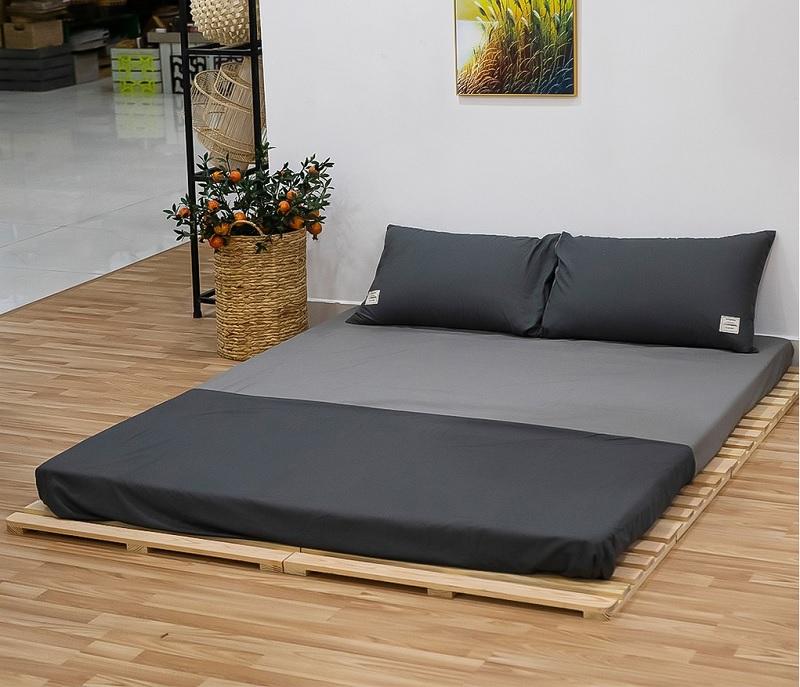 Giường ngủ Pallet phù hợp với nhiều người trẻ ưa thích lối sống tối giản, mộc mạc
