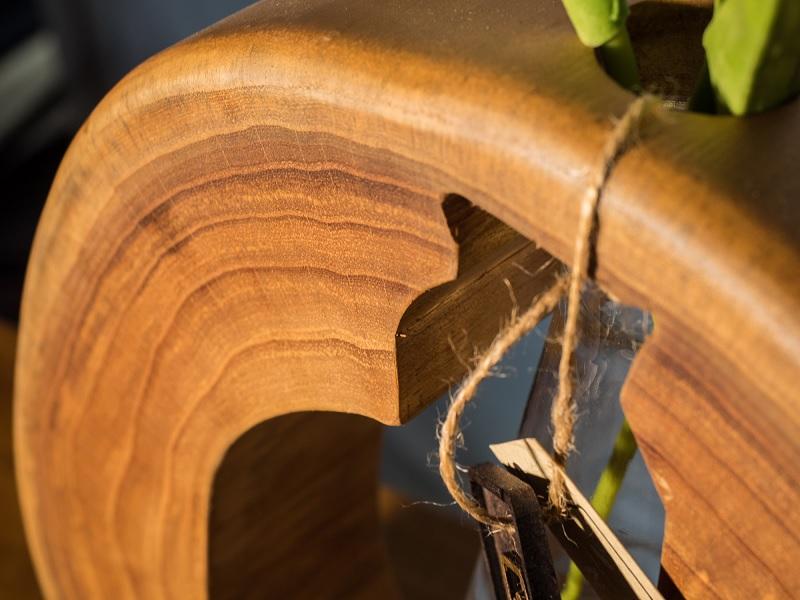 Xoan đào là loại gỗ rắn chắc và cứng cáp. Các đường vân của gỗ có sức hút đến bất ngờ.