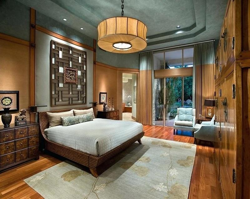 """Ý tưởng 1: Mẫu phòng ngủ Á Đông sánh ngang """"Resort 5 sao"""""""