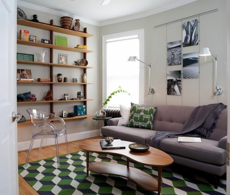 Mẫu phòng khách chung cư phong cách tự do