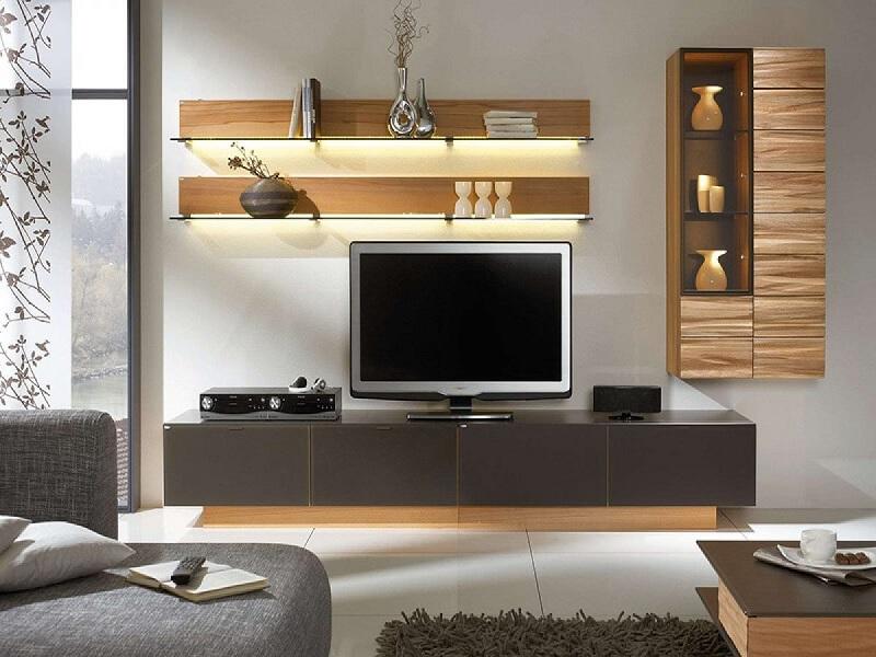 Mẫu trang trí phòng khách chung cư tươi mới, khác biệt