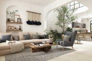 Các mẫu thiết kế nội thất phong cách Địa Trung Hải đẹp 2021