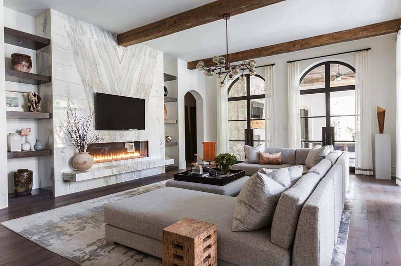 Trong phong cách thiết kế cảu Ý và Hy Lạp thì mái vòm là hình ảnh đặc trung, nổi bật trong những ngôi nhà.